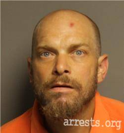 Dale Hill Arrest Photo