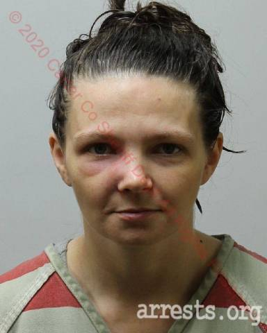 Marah Tucker Arrest Photo