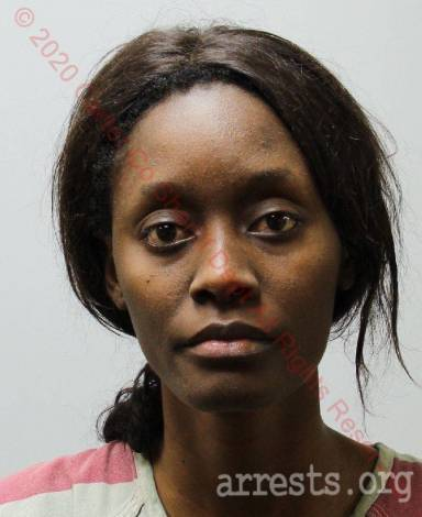 Faith Somah Arrest Photo