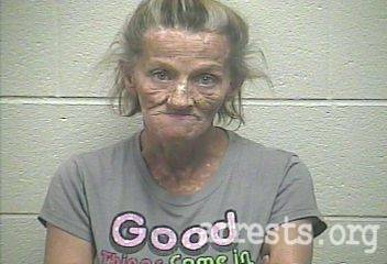Jackie Reeves Arrest Photo
