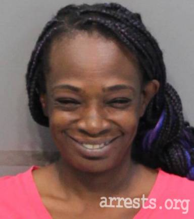 Aquanella Cooper Arrest Photo