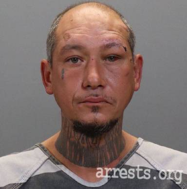Gilbert Vega Arrest Photo