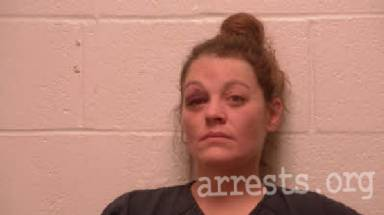 Samantha Burr Arrest Photo