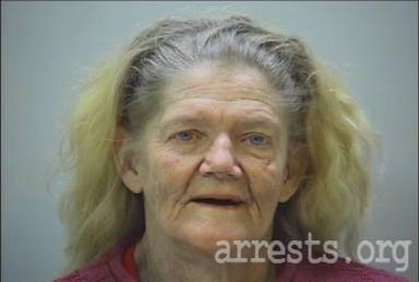 Shirley Hampton Arrest Photo