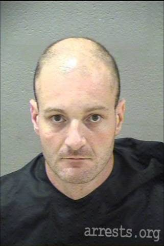 Christopher Cantwell Arrest Photo