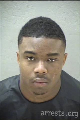 Brandon Johnson Arrest Photo