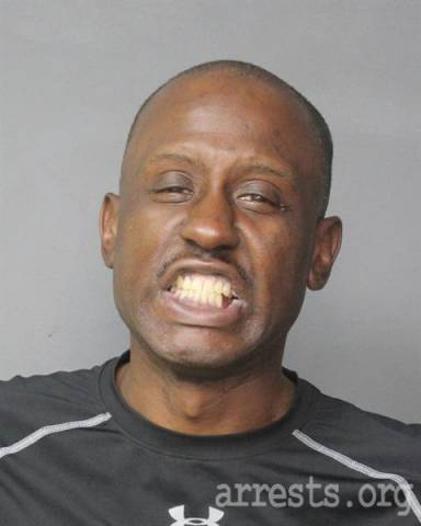 Andre Graves Arrest Photo